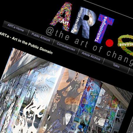 Community Arts London website creation