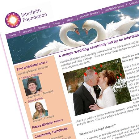 Interfaith Website Design