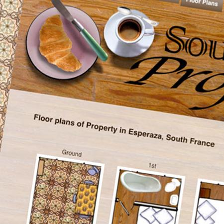 France property graphic design