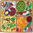 Food hamper art
