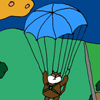 Parachuting fun